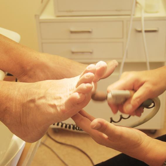 Medicinsk fotvård